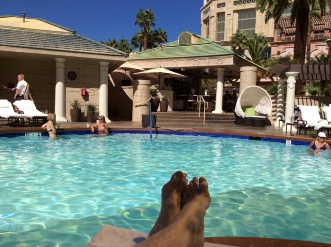 Four Seasons Las Vegas pool review