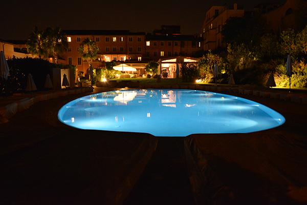 Gran Melia Rome pool