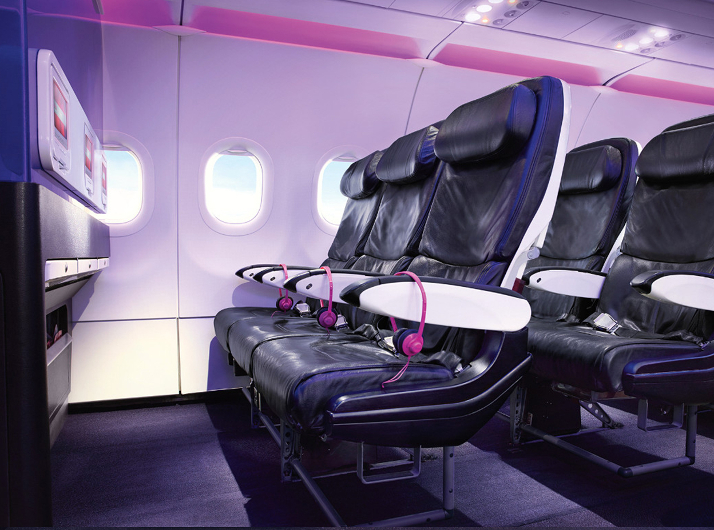 Main Cabin Select Virgin America