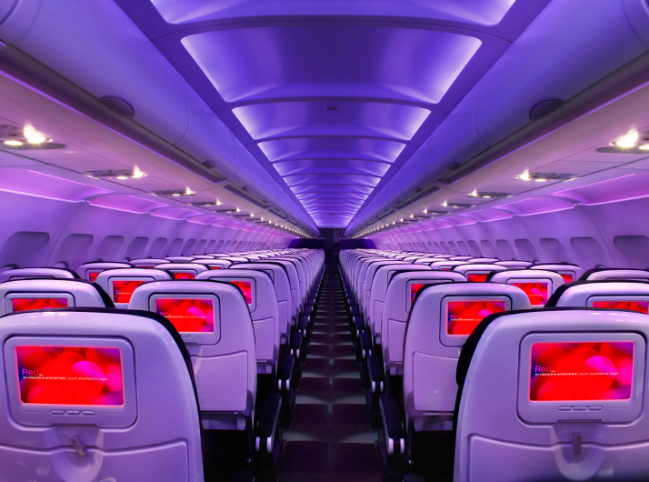 Main Cabin Virgin America