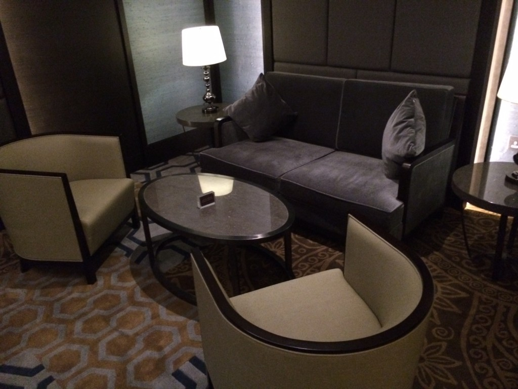 Plaza Premium Heathrow alcove