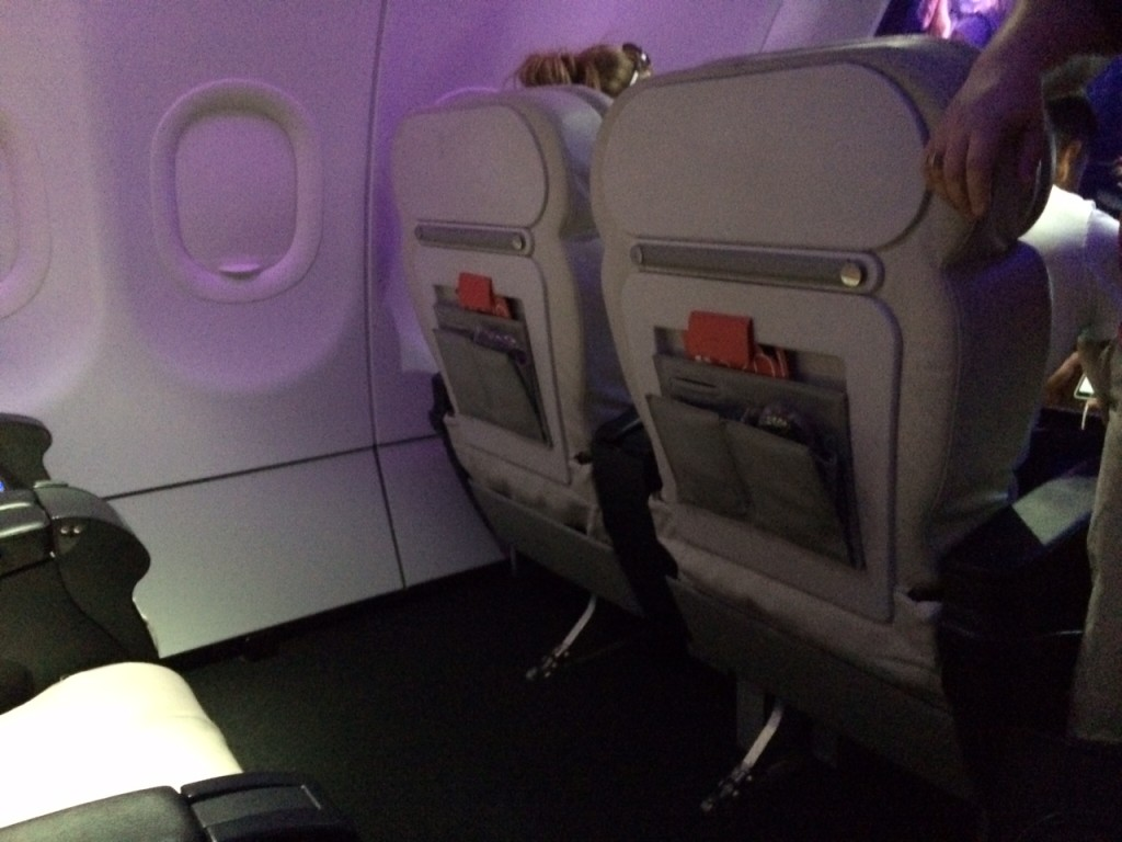 Virgin America First Class 3 review