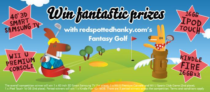 redspottedhanky Fantasy Golf