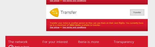 How to transfer Avios from British Airways to Iberia