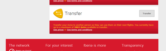 How to transfer Avios from British Airways to Iberia