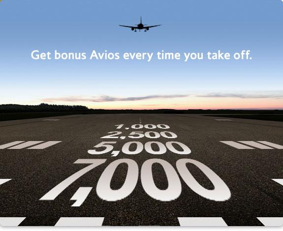 7000 bonus Avios