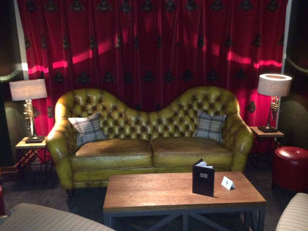 Conrad London St James bar seating
