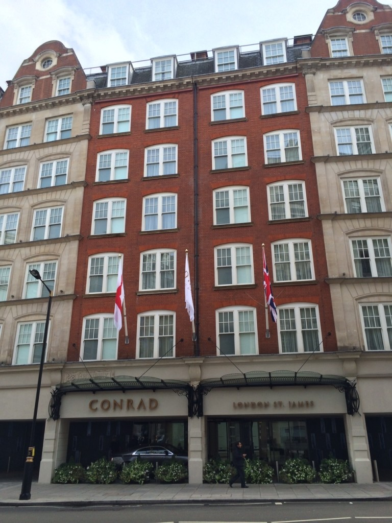 Conrad London St James exterior