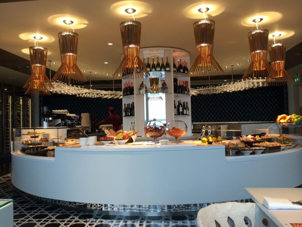 Qatar Premium Lounge bar