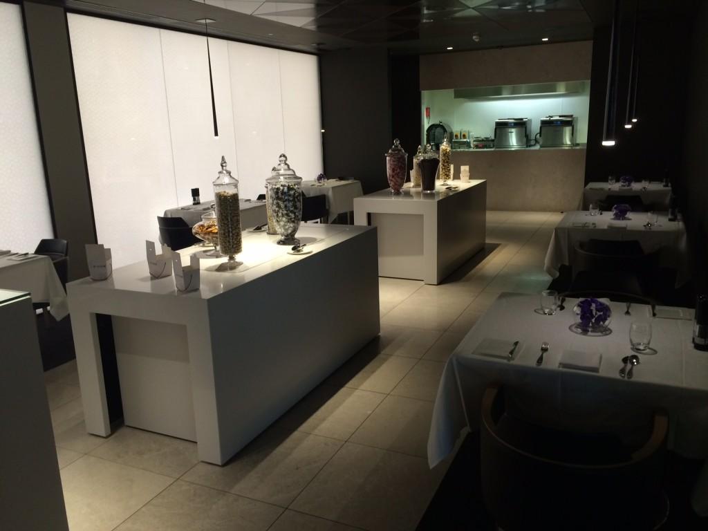 Qatar Premium Lounge dining room 2