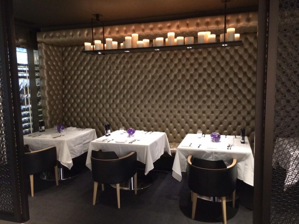 Qatar Premium Lounge dining room
