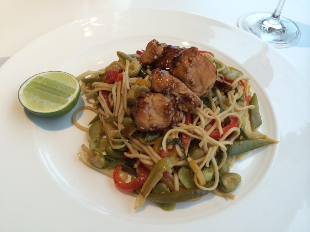 Qatar Premium Lounge food 2