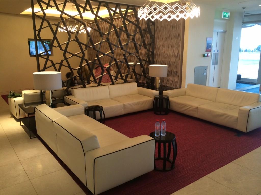 Qatar Premium Lounge seating
