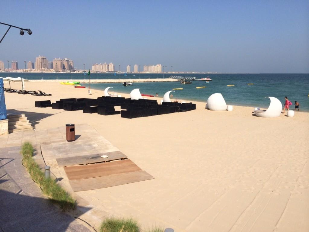 St Regis Doha beach