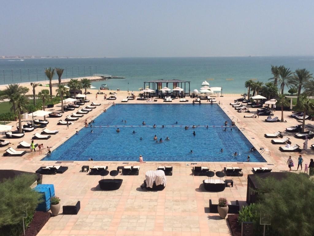 St Regis Doha pool