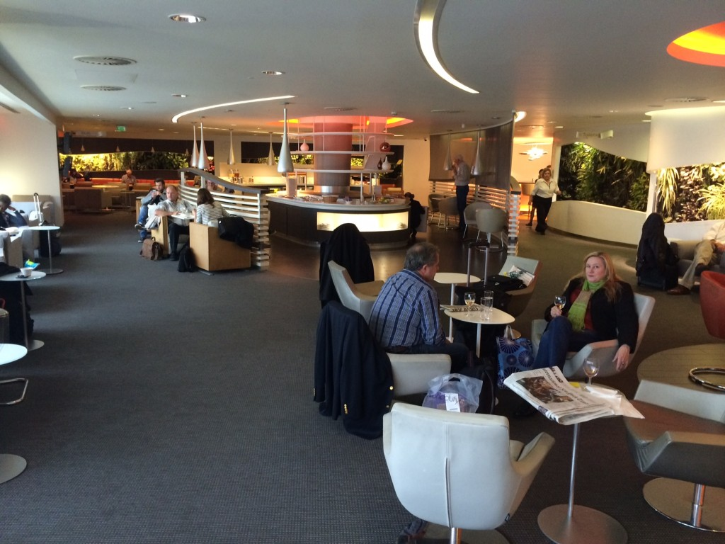 Skyteam Lounge Heathrow Terminal 4