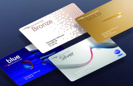 British Airways Executive Club status cards