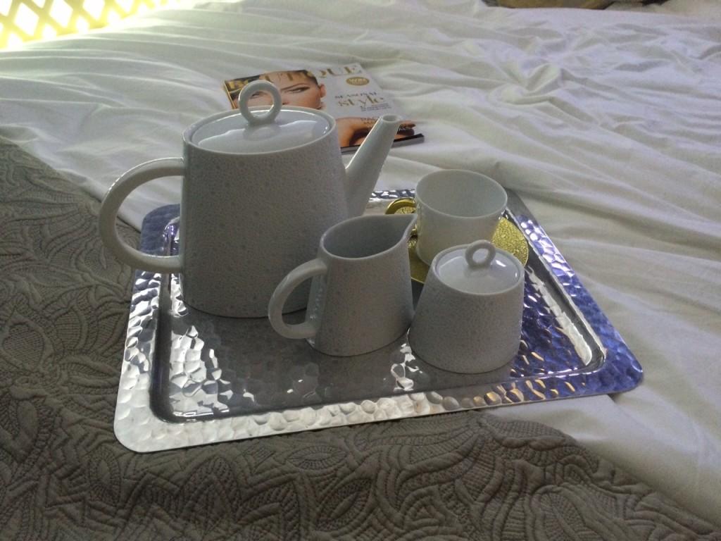 Etihad Residence tea tray