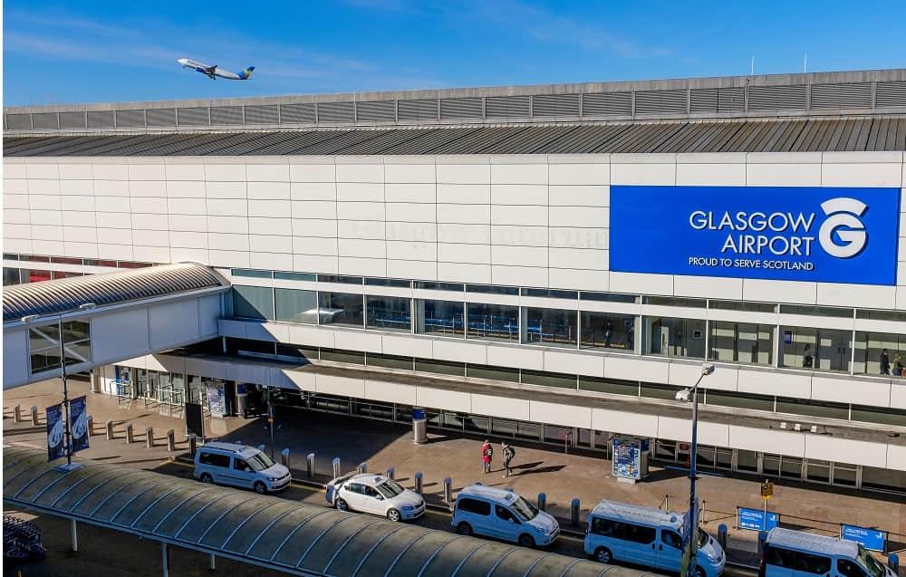 Emirates flight restart from Glasgow Airport