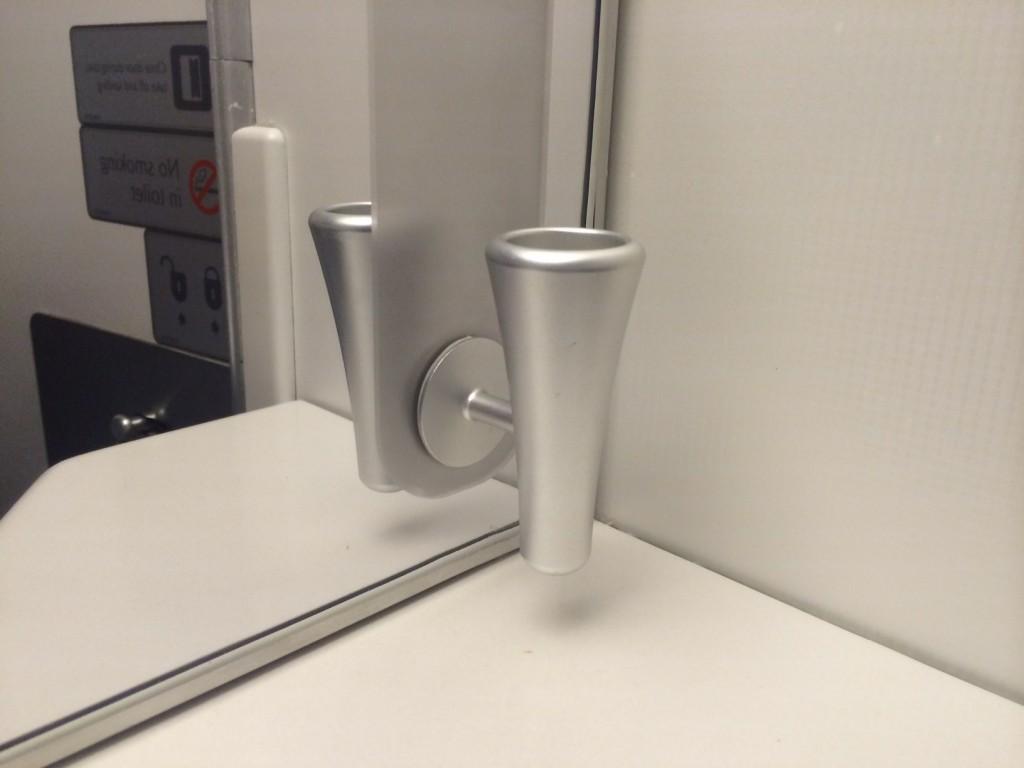 British Airways business class bathroom