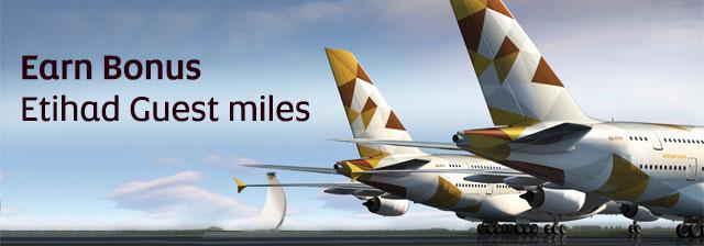 Etihad bonus miles