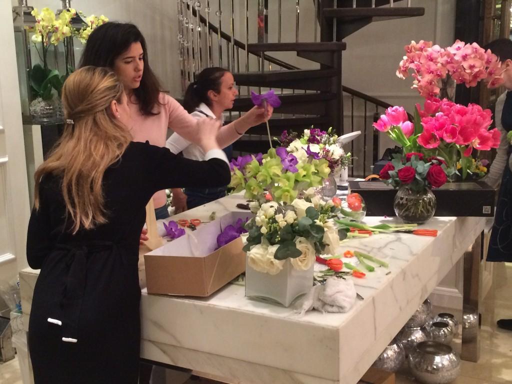 Corinthia Hotel London florist 2