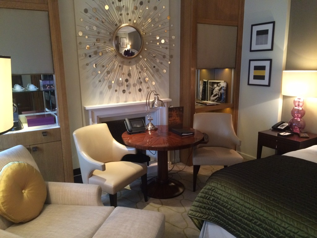 Corinthia Hotel London review bedroom rpt