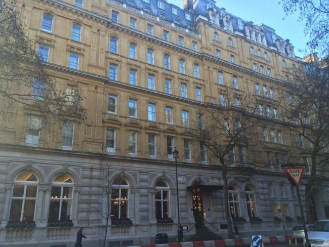 Corinthia Hotel London review exterior 2