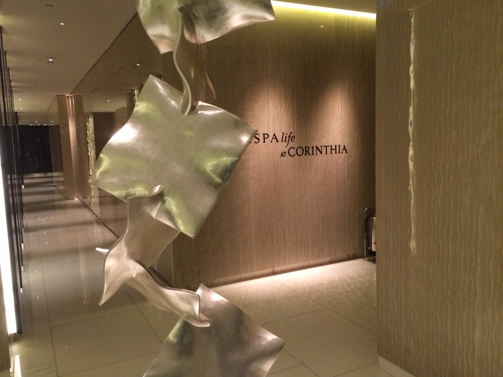 Corinthia Hotel London review spa 2