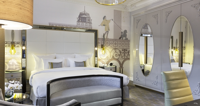Hilton Paris Opera room
