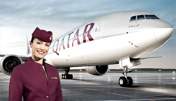 Win two business class flights with Qatar Airways