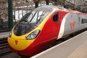 Virgin Trains Wolverhampton lounge