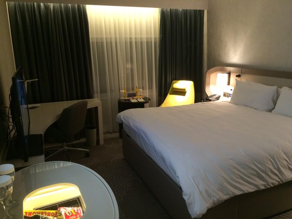 Bed Hilton London Heathrow Terminal 4 review