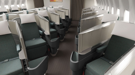 Cathay A340 business class