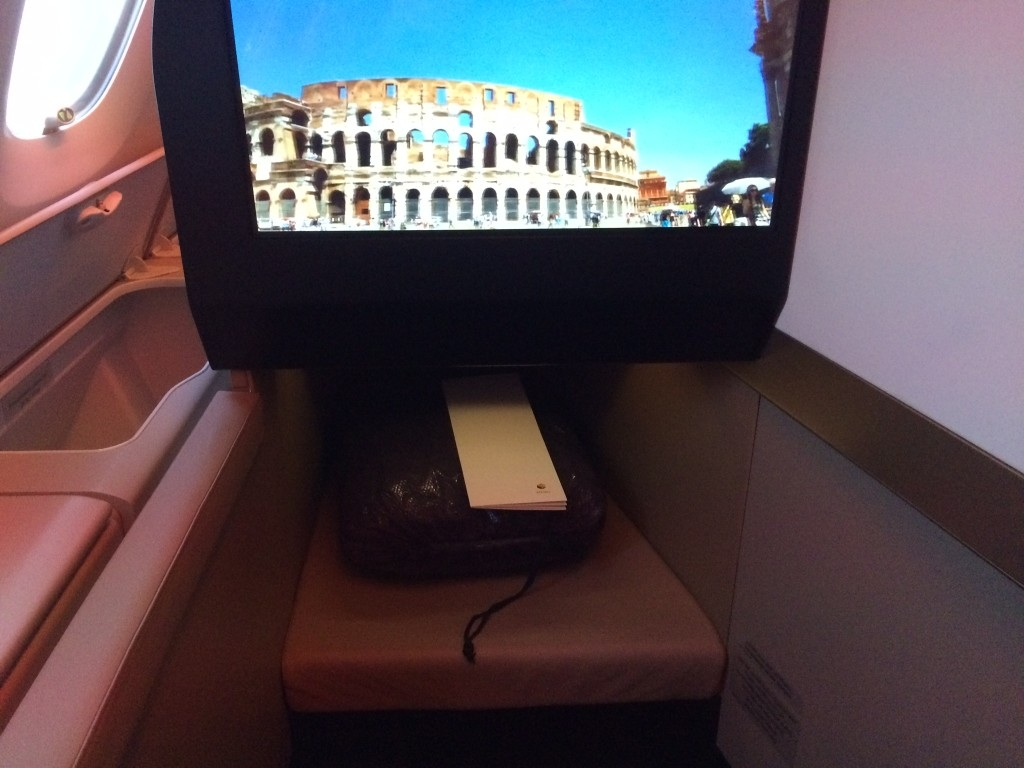 Etihad A380 Business Suite review TV