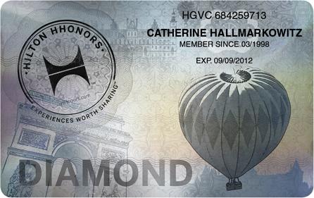 Hilton Diamond status match