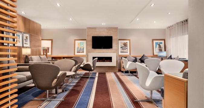 Hilton Heathrow Hotel Executive Lounge review