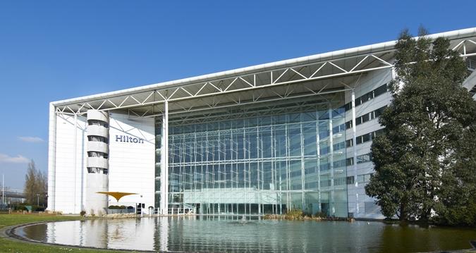 Hilton London Heathrow Airport hotel Exterior review