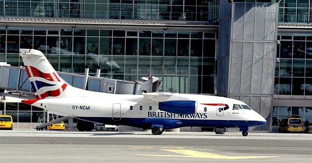 SUN-AIR British Airways aircraft