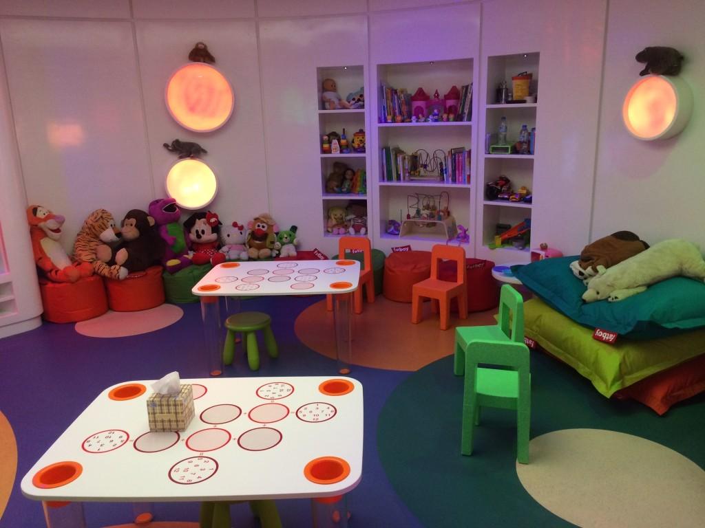 Etihad Premium Lounge Abu Dhabi kids