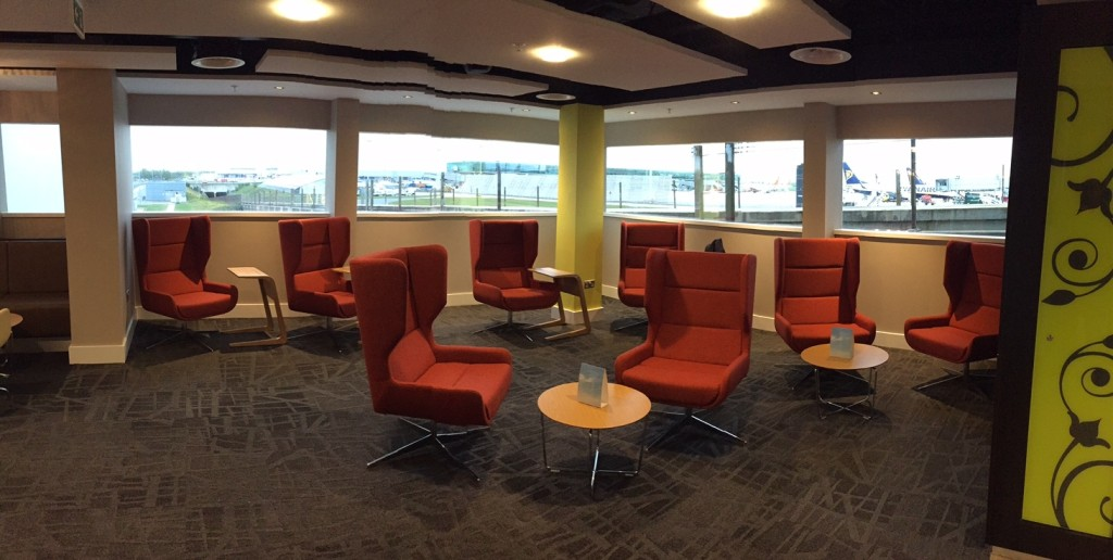 Stansted Escape airport lounge 1