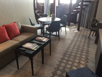 Crowne Plaza London Kensington review duplex