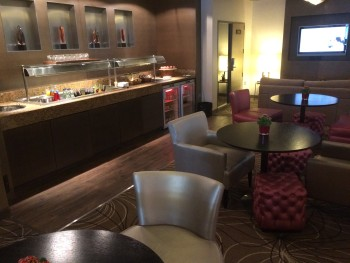 Crowne Plaza London Kensington club lounge review