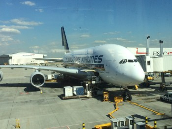 Singapore Airlines A380 review