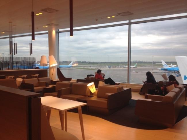 Aspire Lounge Amsterdam Schiphol 2