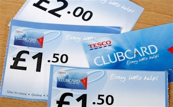 Use Tesco Clubcard points for travel