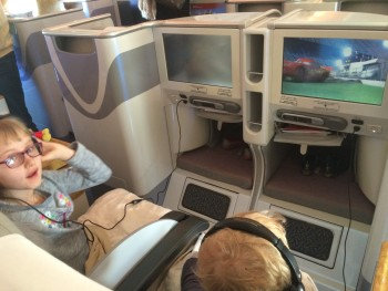 Emirates A380 business class review seats