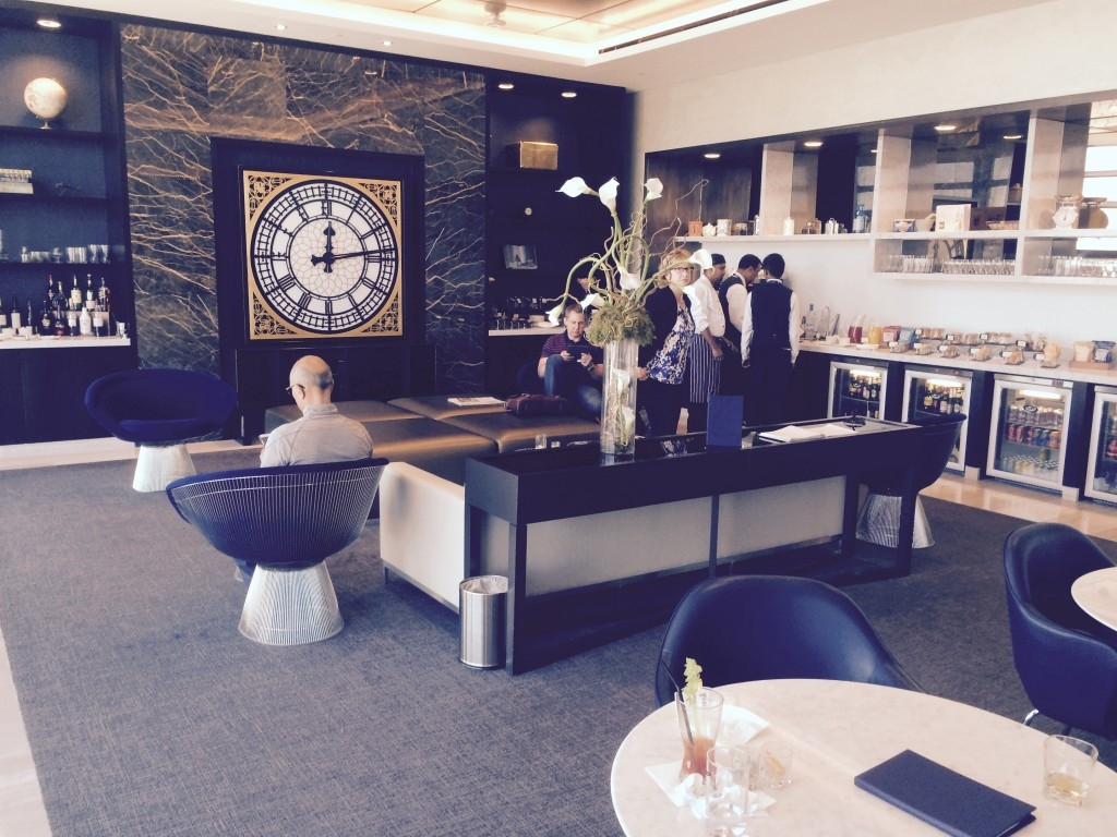 United First Class lounge Heathrow Terminal 2