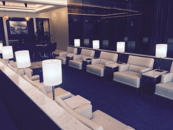 United First Class lounge Heathrow Terminal 2 seats