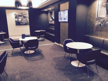 United First Class lounge Heathrow Terminal 2 seating